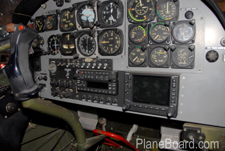 1976 SIAI-Marchetti SM.1019 interior 7