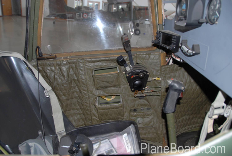 1976 SIAI-Marchetti SM.1019 interior 5