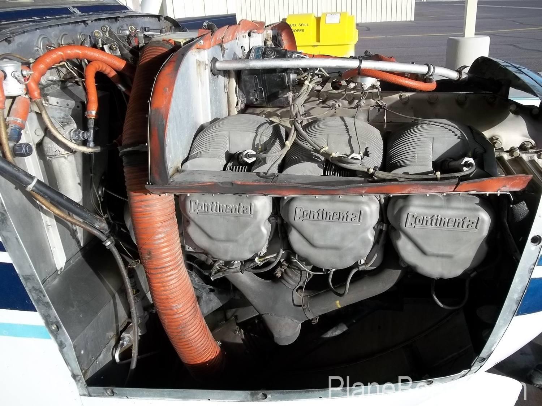 1960 Cessna 210 interior 20