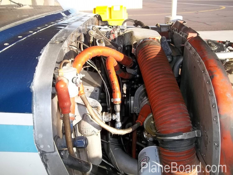 1960 Cessna 210 interior 22