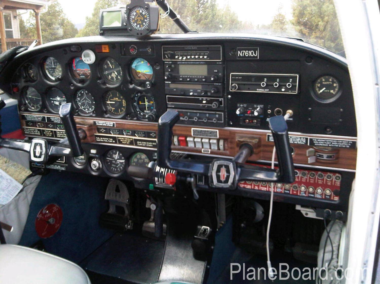 1968 Piper Arrow interior 0