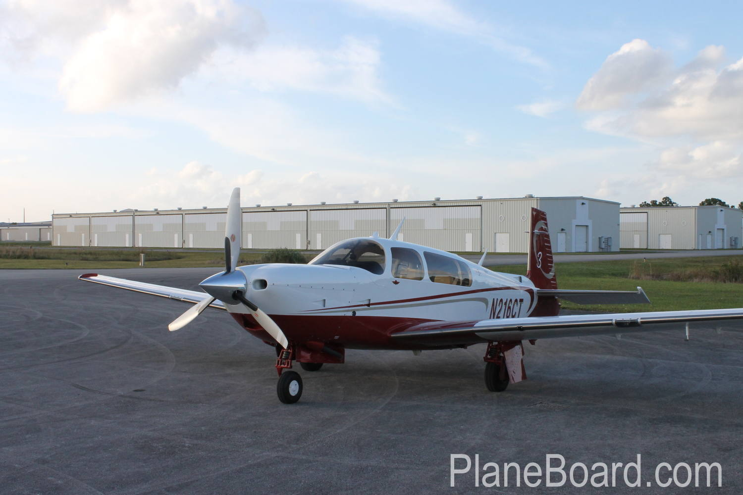 2008 Mooney M20R Ovation3 GX exterior 0