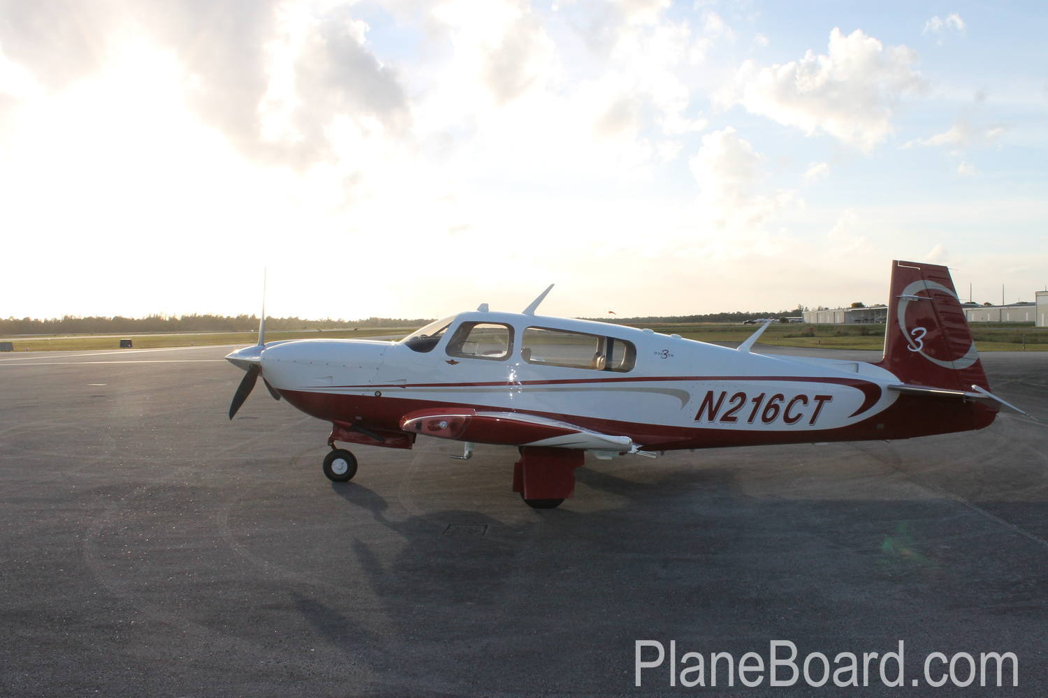 2008 Mooney M20R Ovation3 GX exterior 1