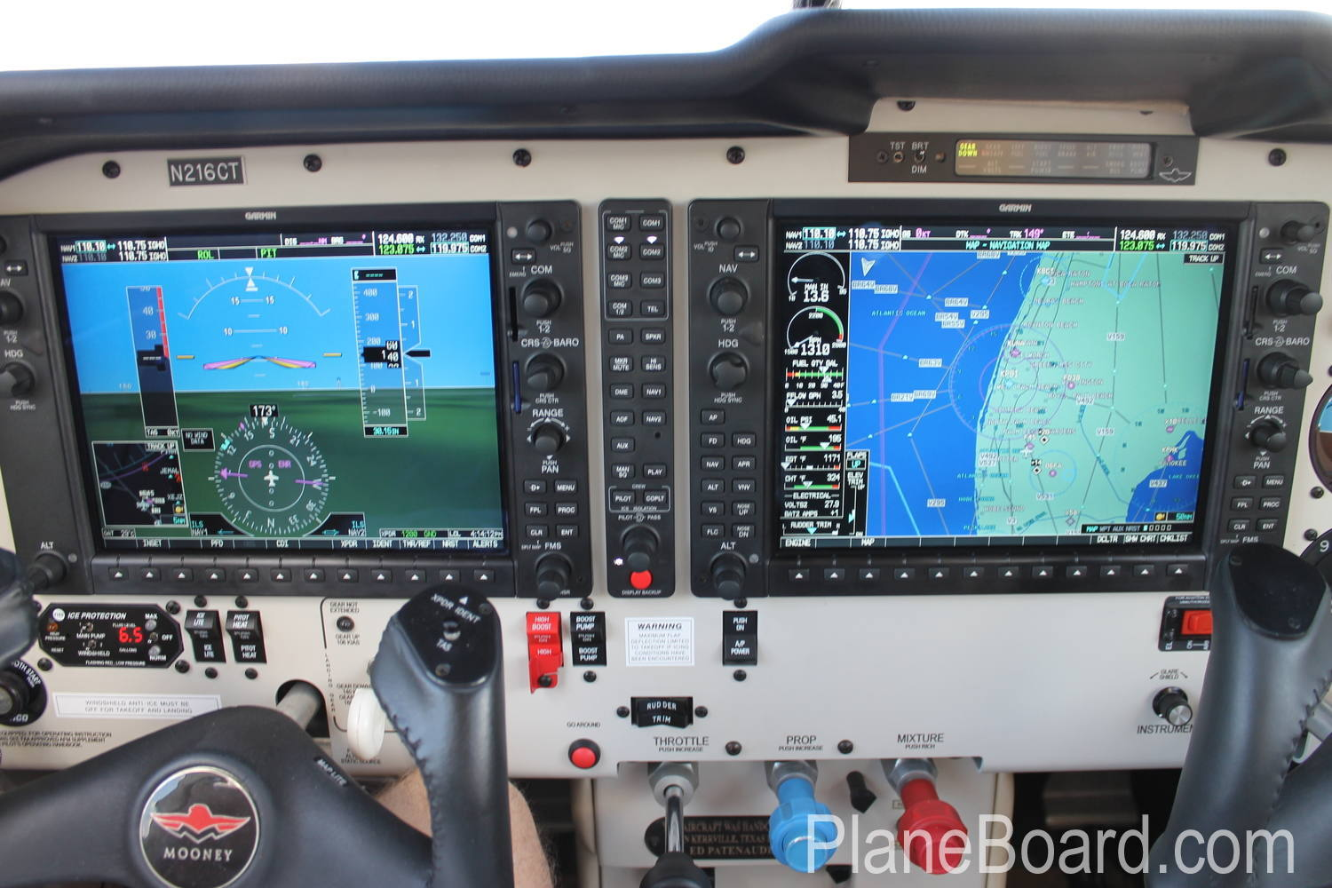 2008 Mooney M20R Ovation3 GX interior 20