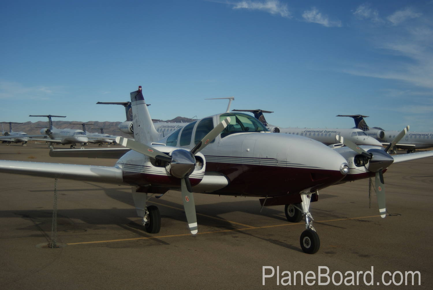 1967 Beechcraft C55 Baron primary
