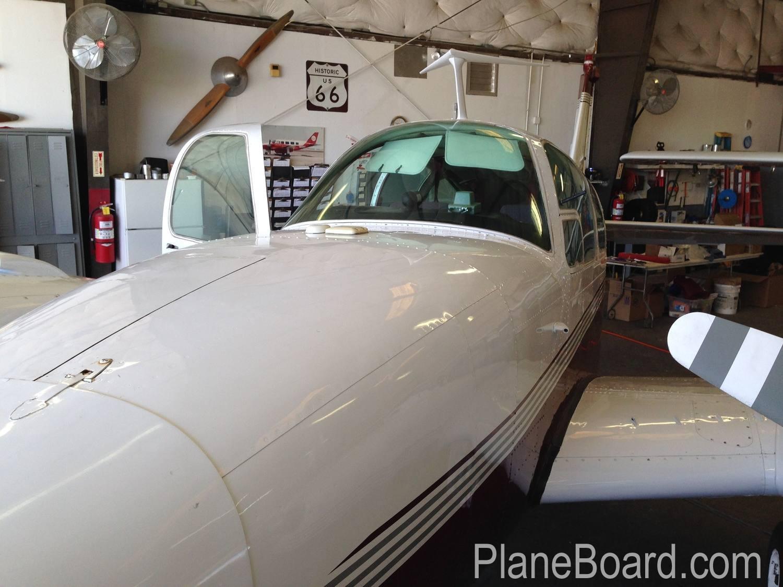 1967 Beechcraft C55 Baron exterior 6