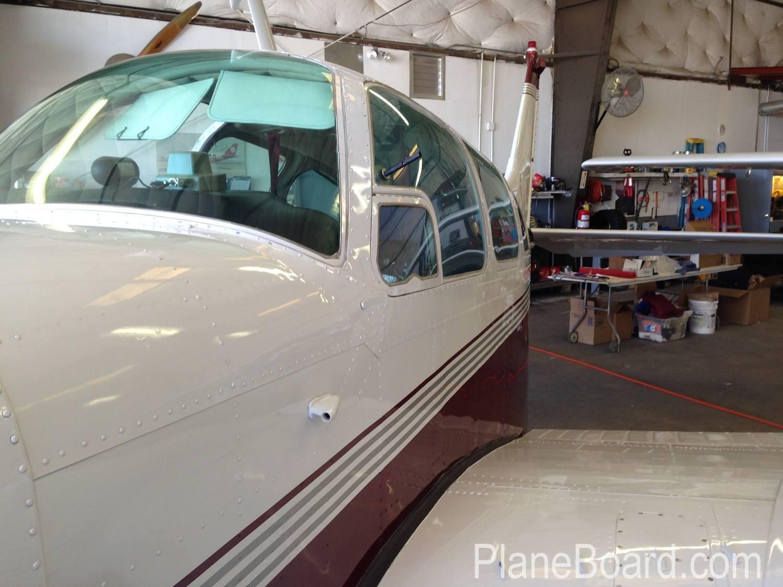 1967 Beechcraft C55 Baron exterior 7