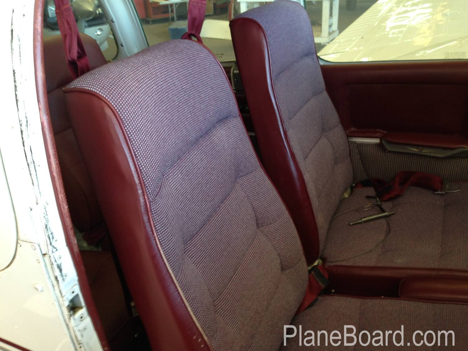 1967 Beechcraft C55 Baron interior 12