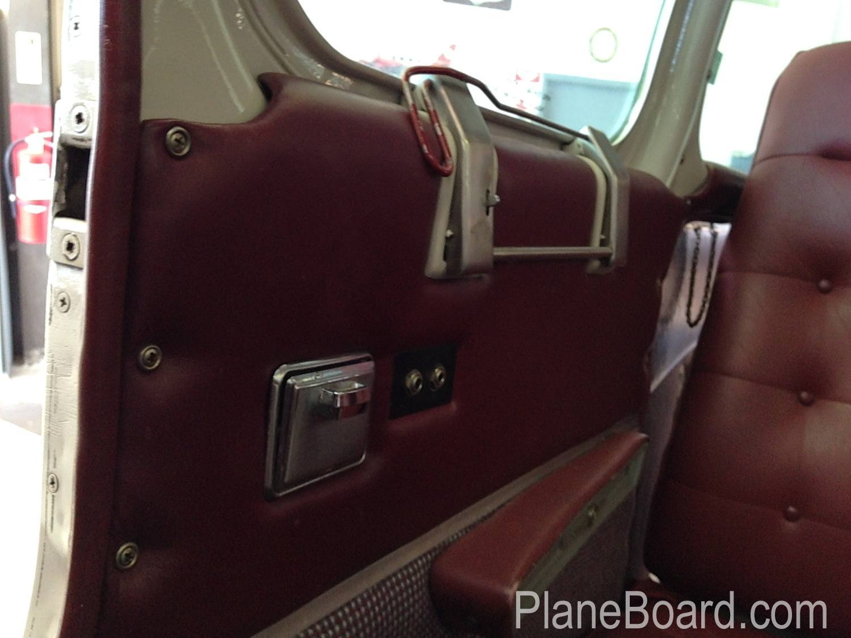 1967 Beechcraft C55 Baron interior 13