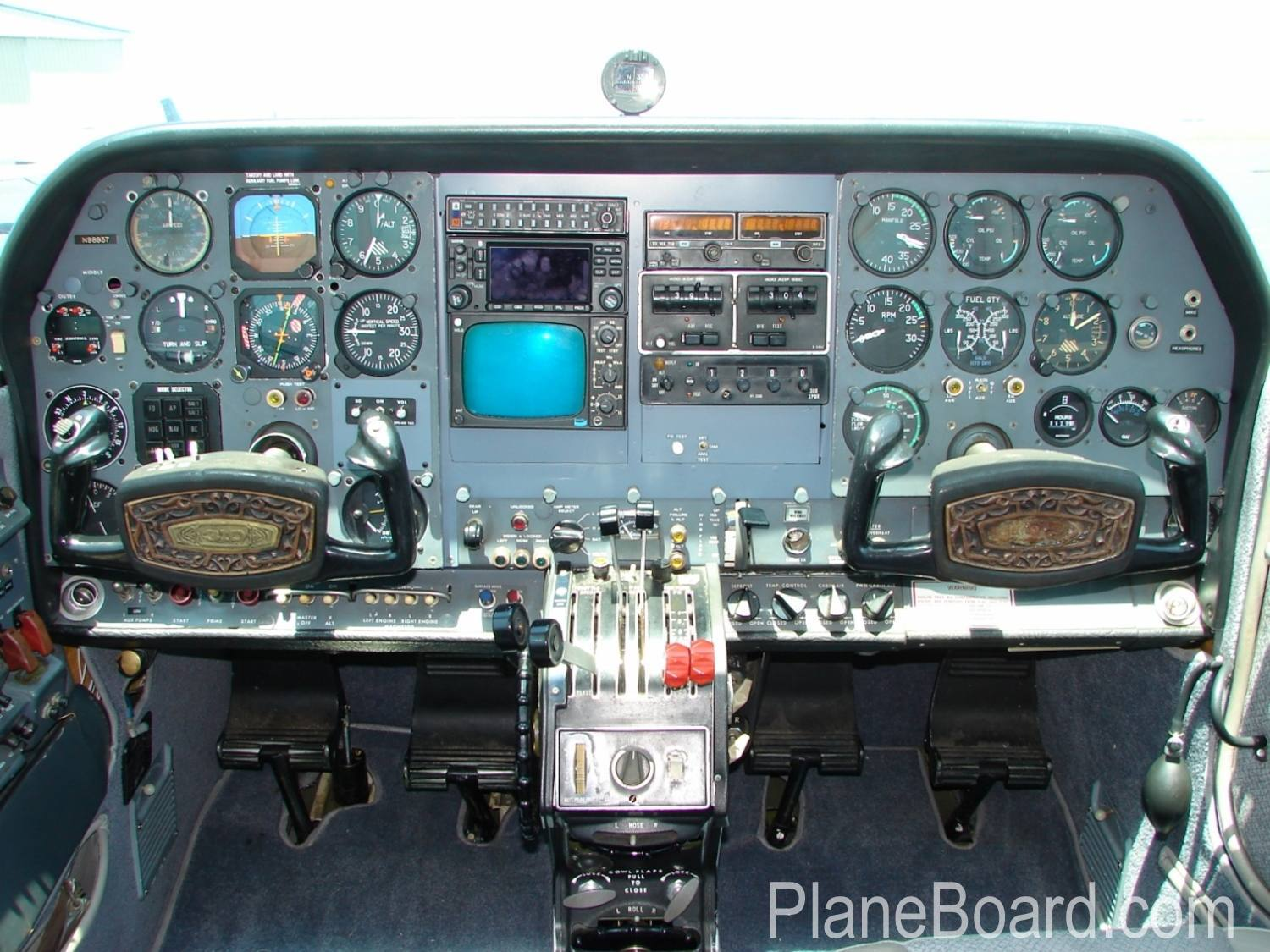 1976 Cessna 310r For Sale N98937 Planeboard