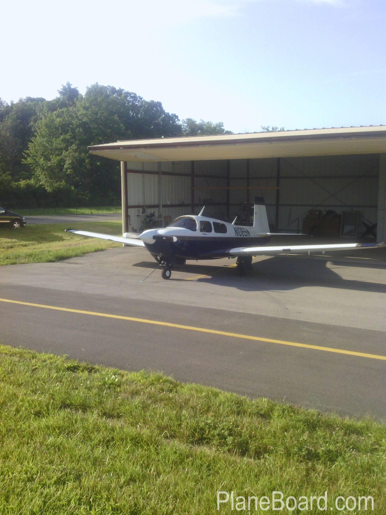 1994 Mooney M20J MSE exterior 0