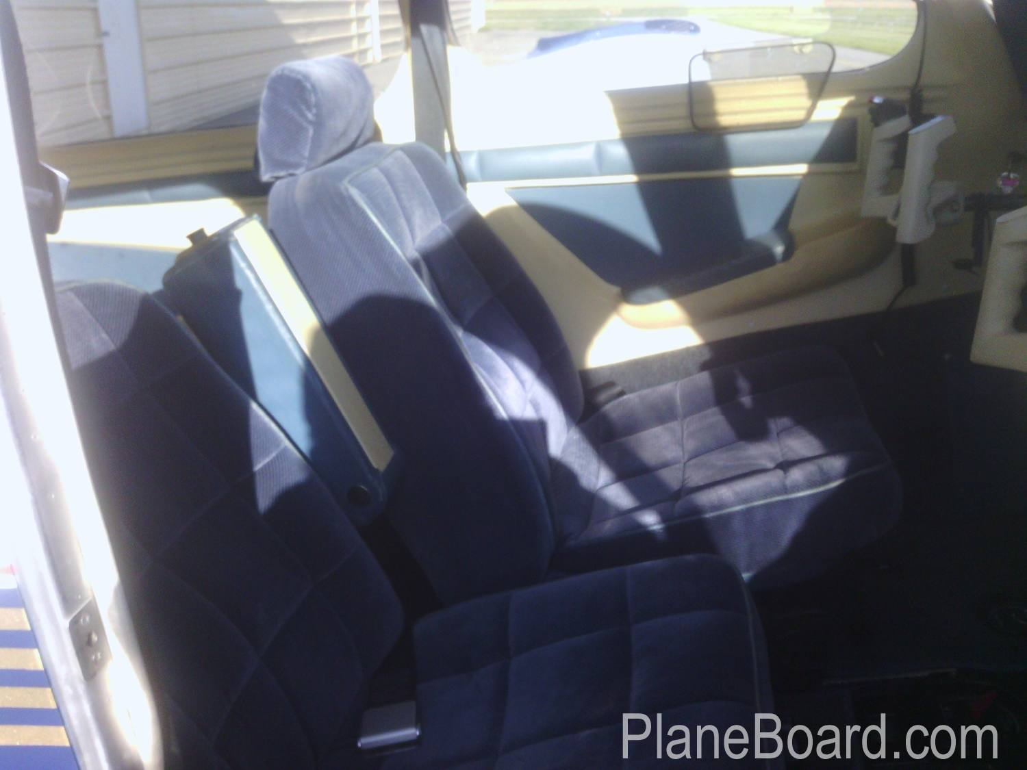 1994 Mooney M20J MSE interior 4