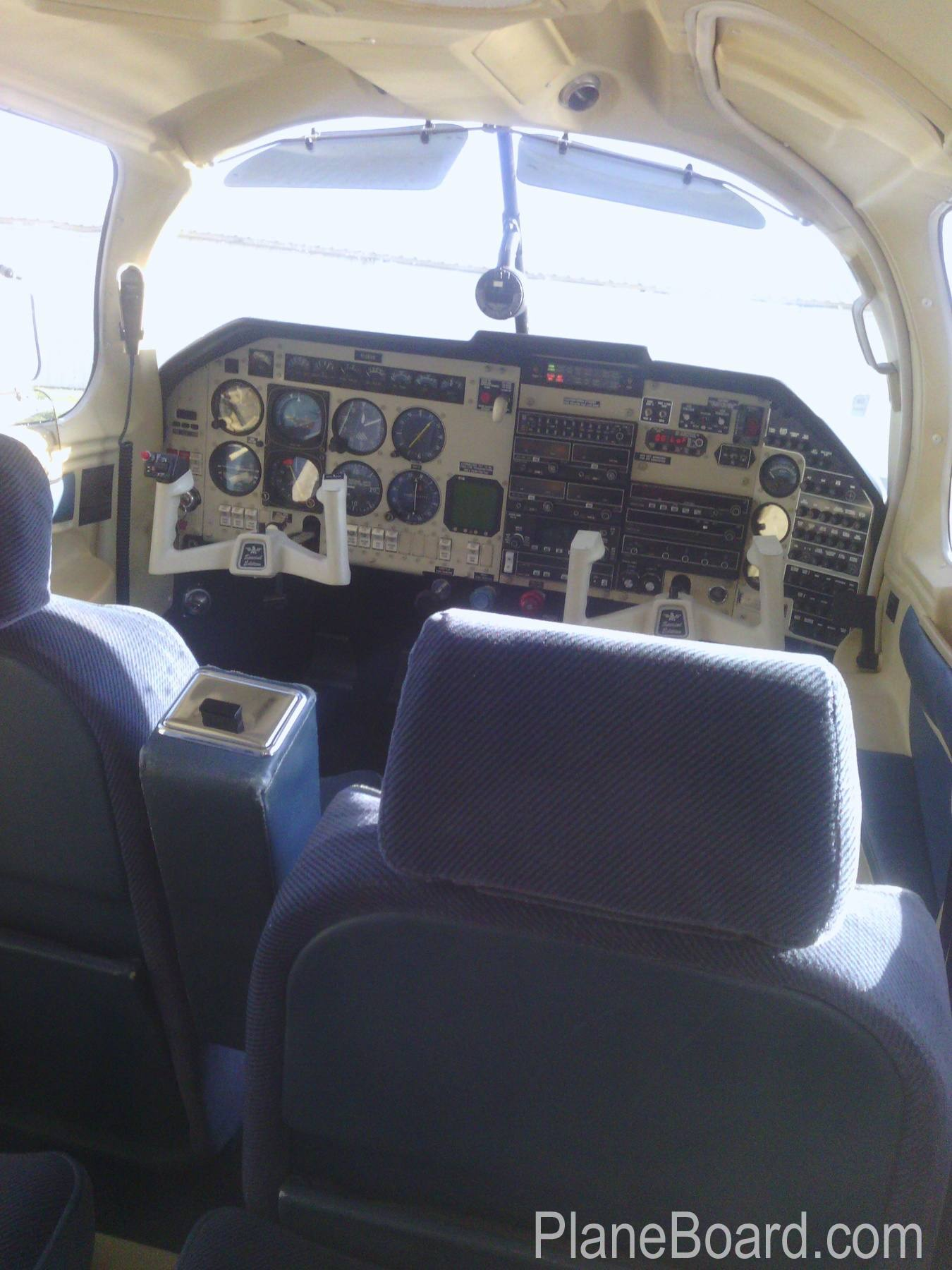 1994 Mooney M20J MSE interior 5