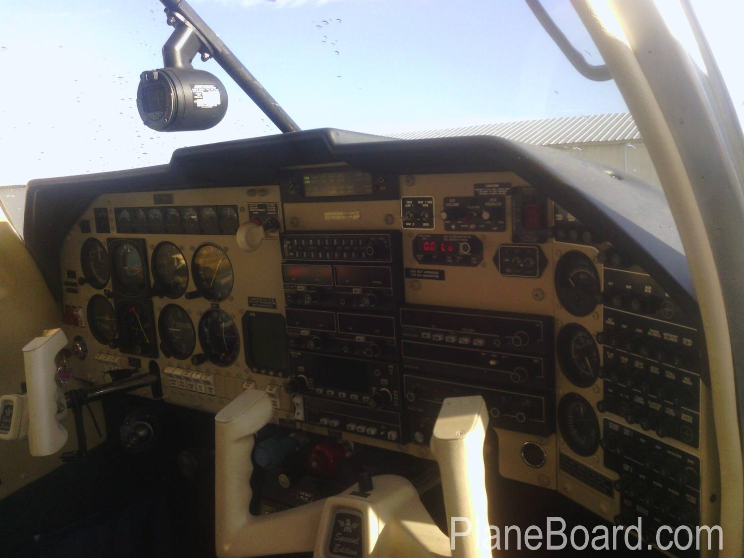 1994 Mooney M20J MSE interior 7