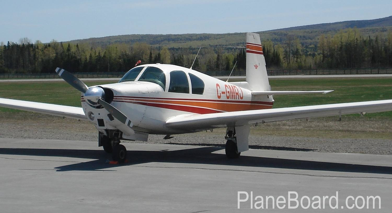 1962 Mooney M20C primary