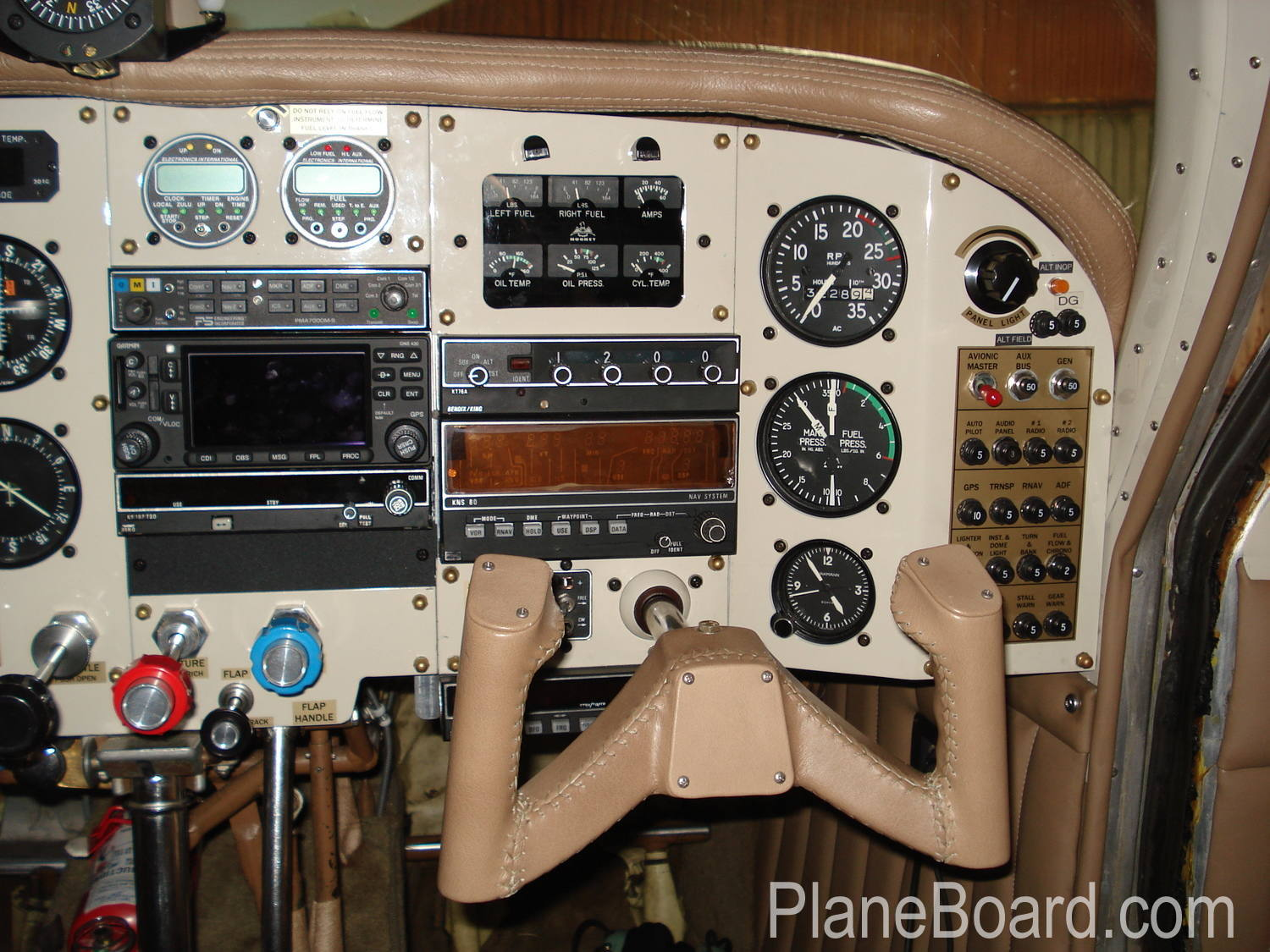 1962 Mooney M20C interior 5