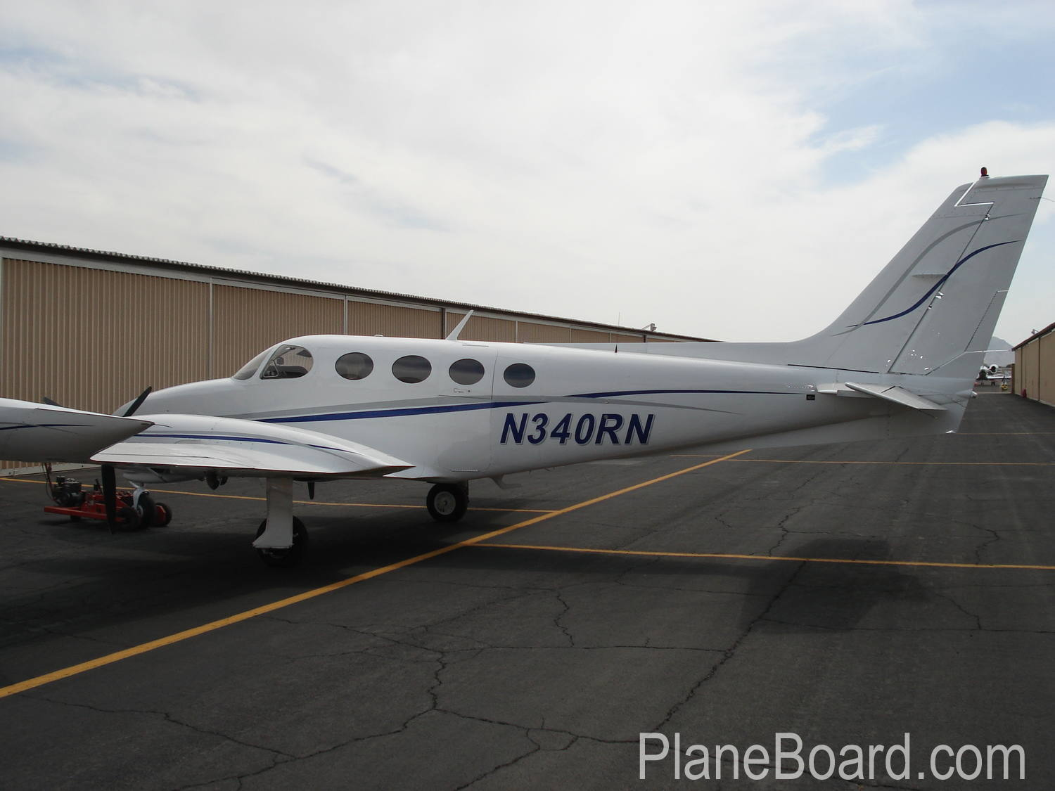 1980 Cessna 340A primary