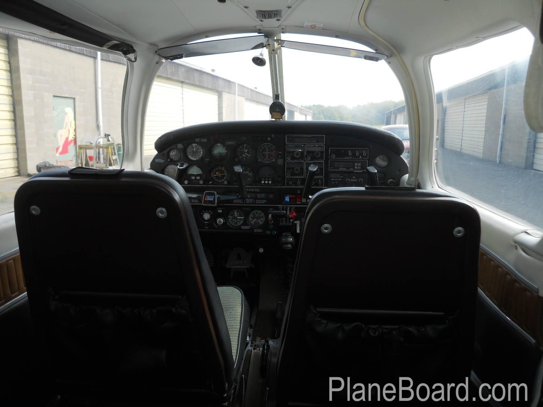 1977 Piper Turbo Arrow III interior 3