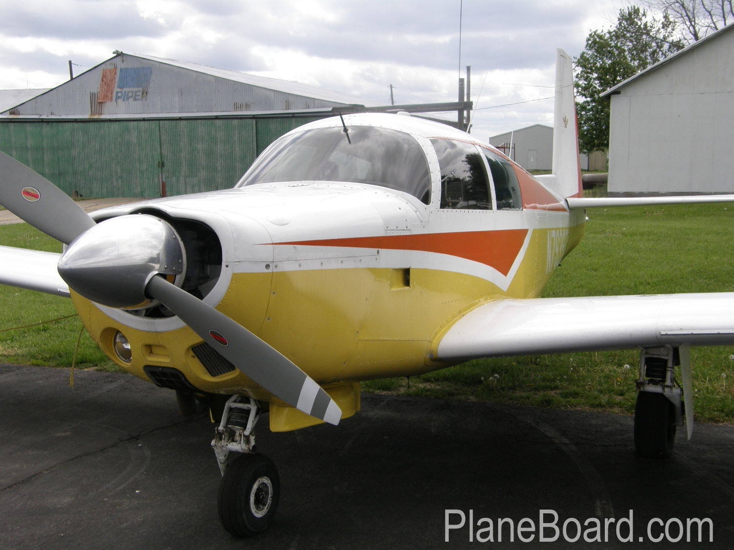 1965 Mooney M20E Chapparal exterior 30