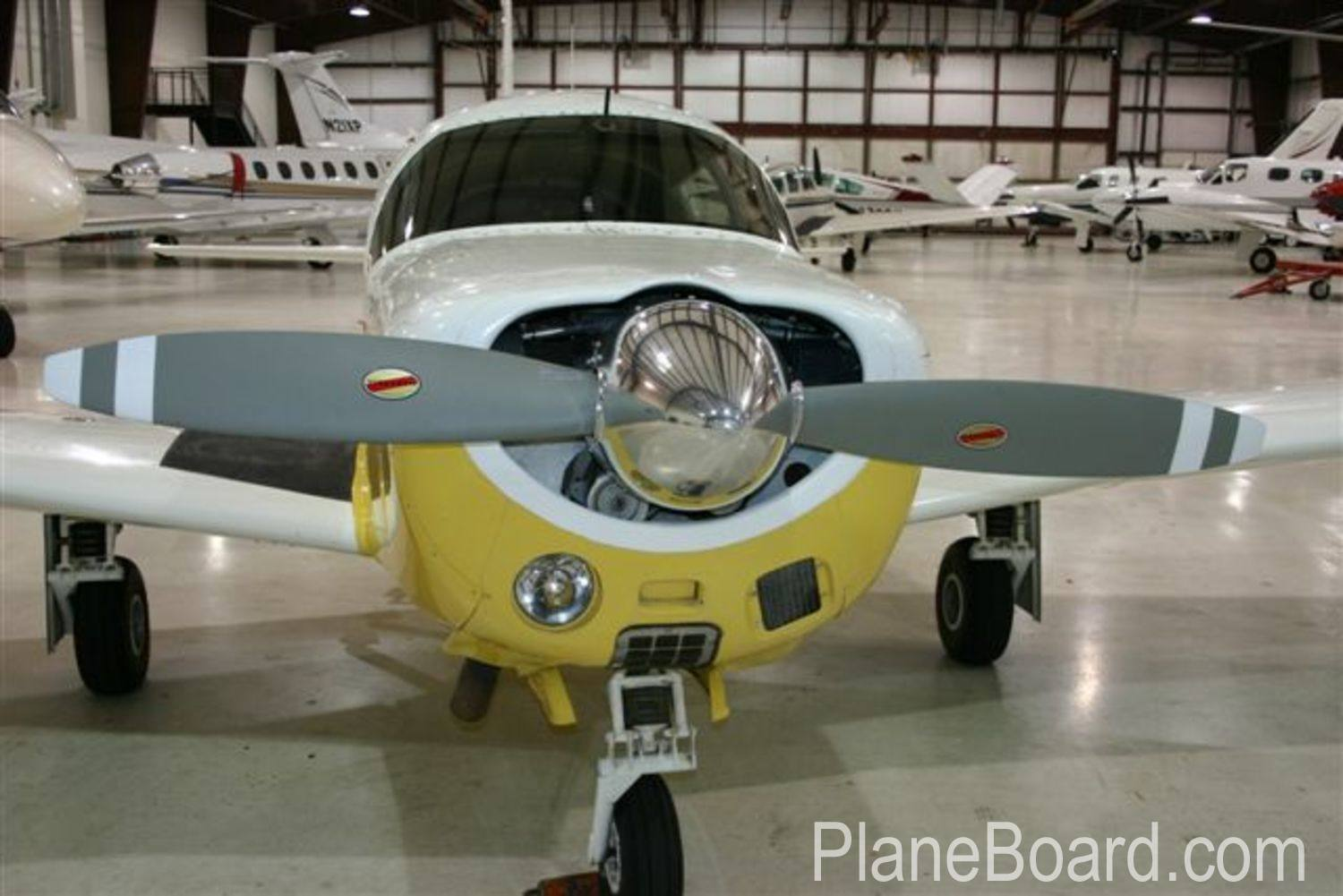 1965 Mooney M20E Chapparal exterior 13