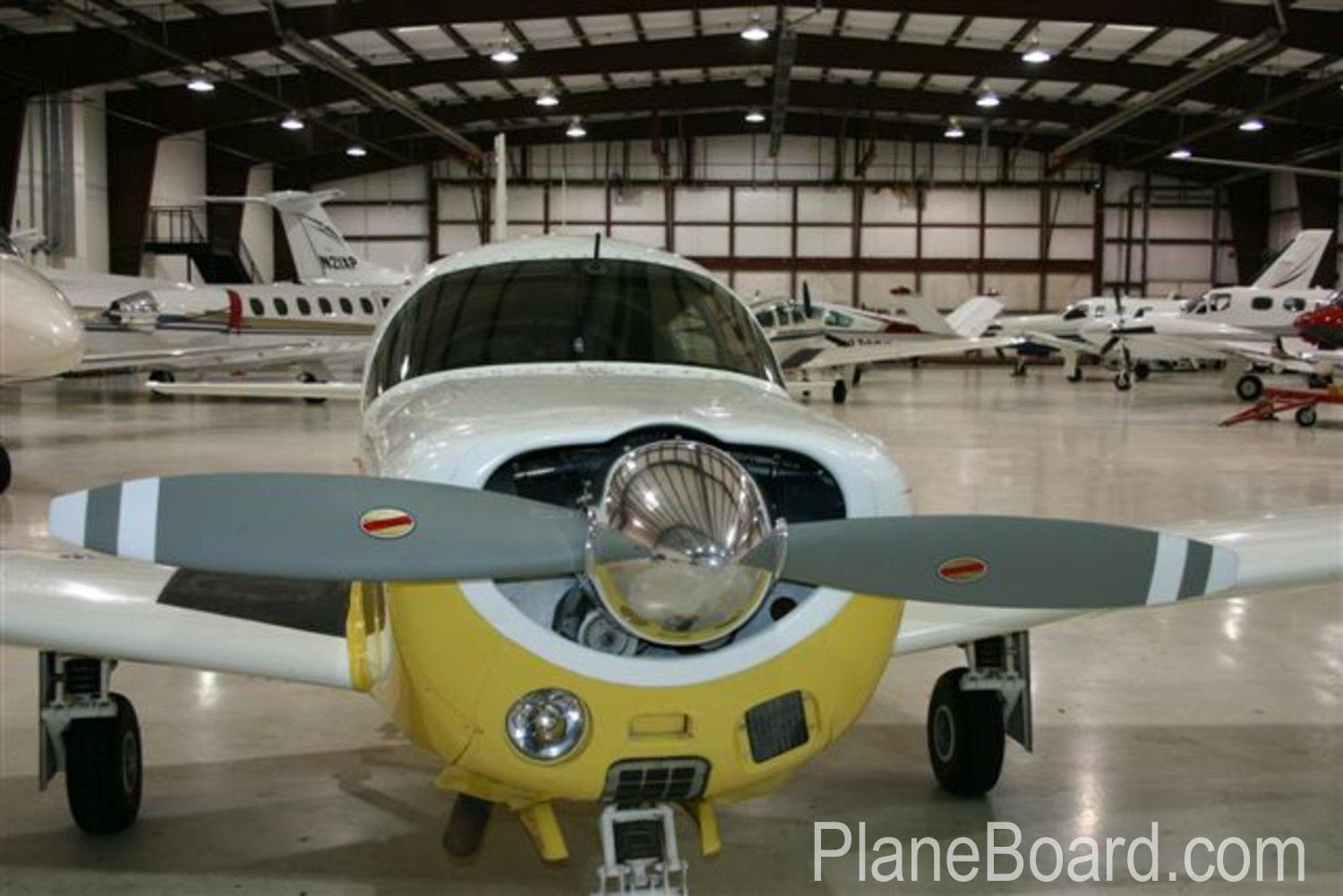1965 Mooney M20E Chapparal exterior 16