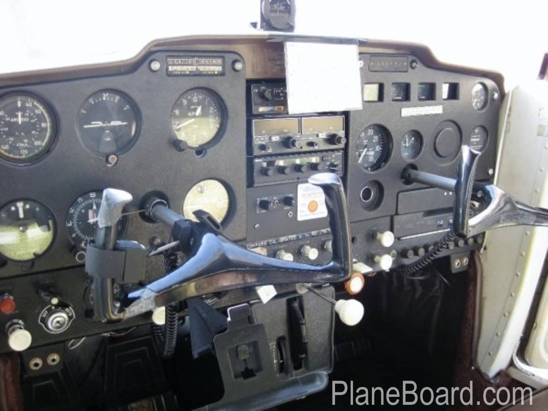1966 Cessna 150 interior 2