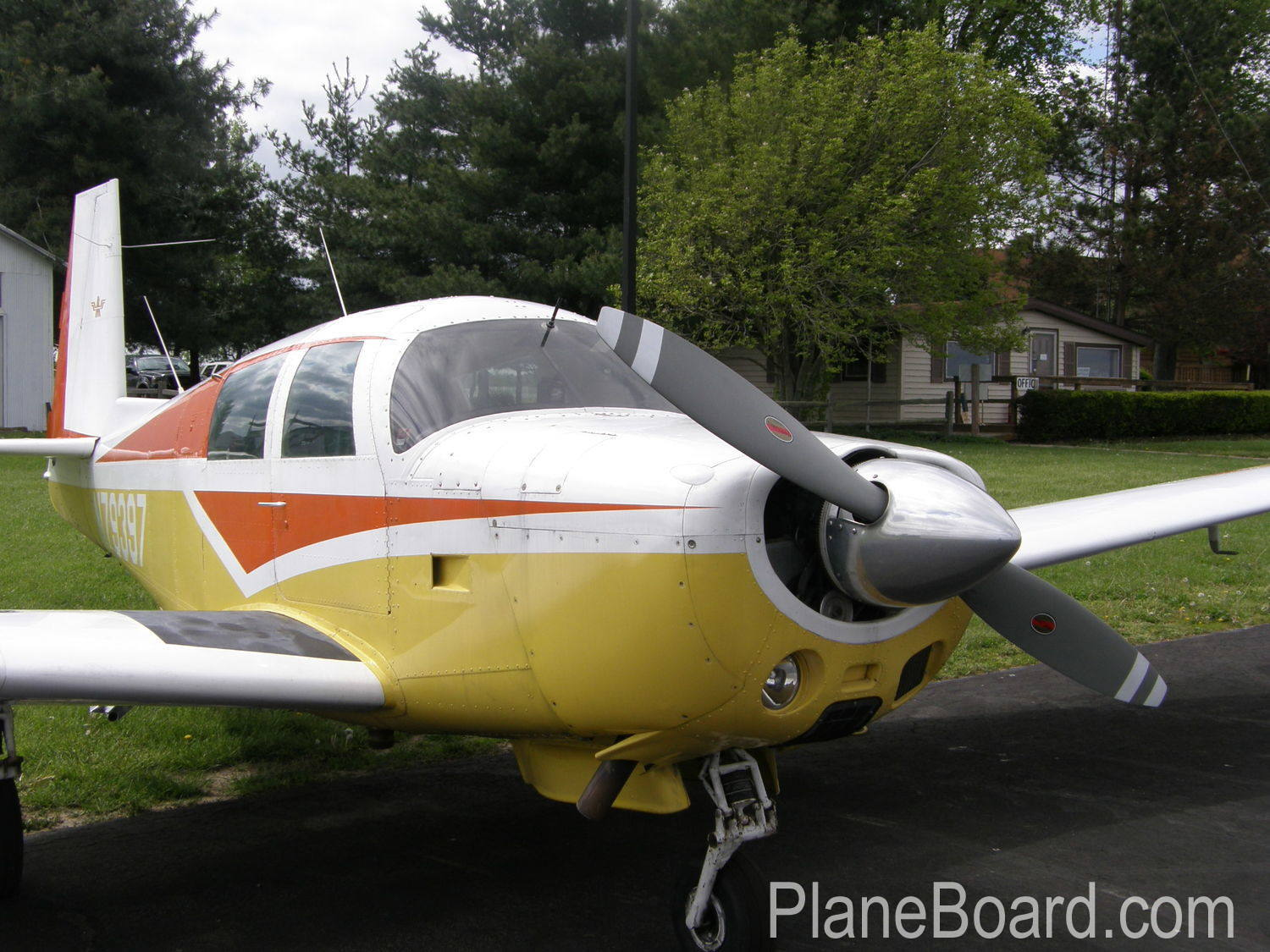 1965 Mooney M20E Chapparal exterior 23