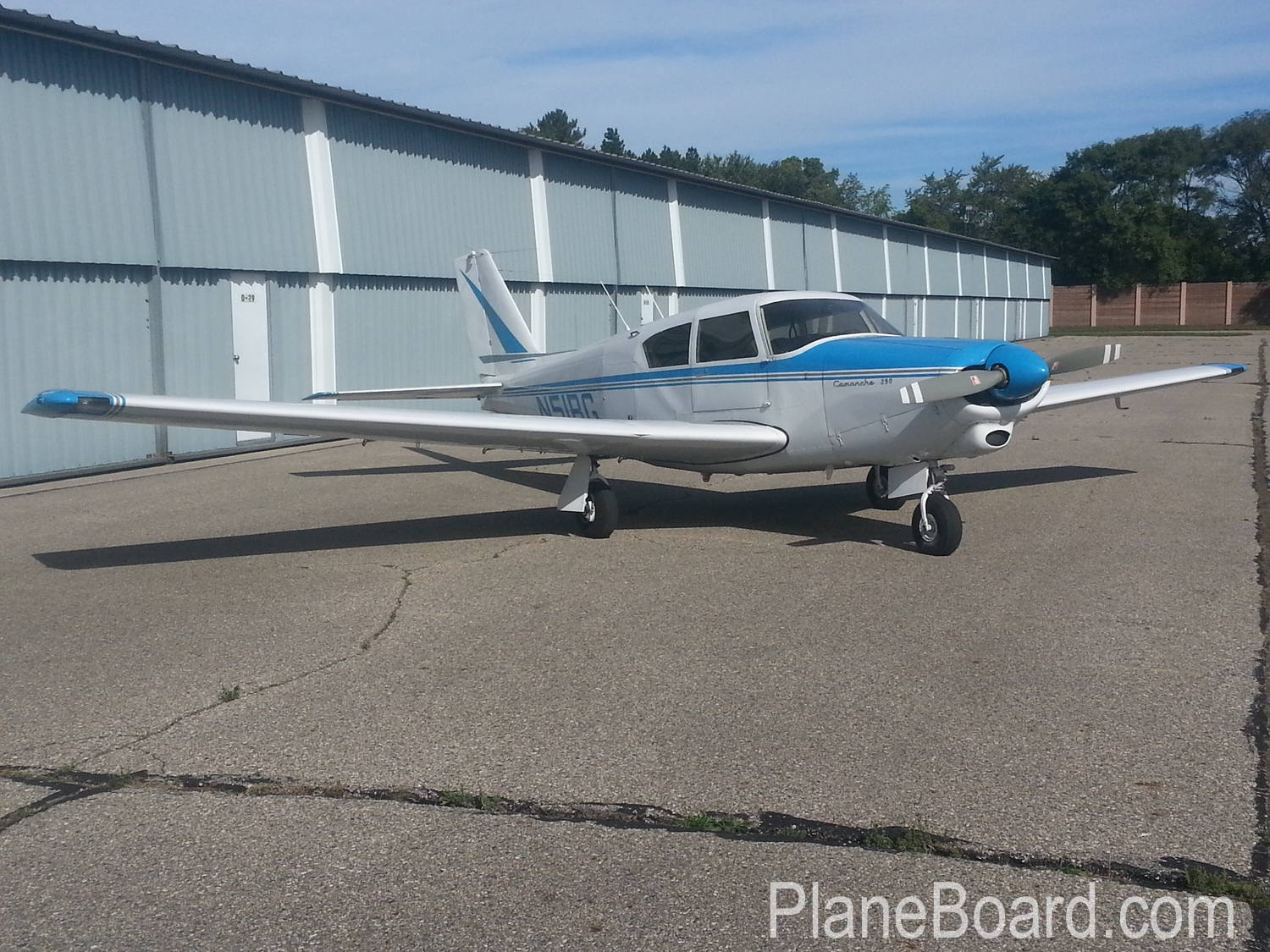 1964 Piper Comanche 250 primary