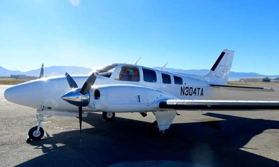 1981 Beechcraft 58P Baron