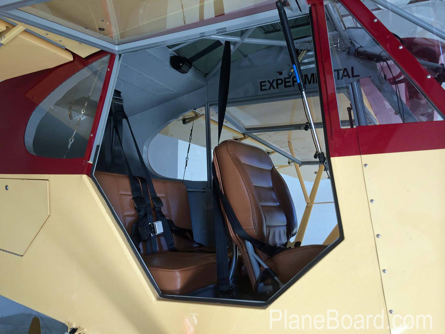2010 Piper Super Cub interior 5