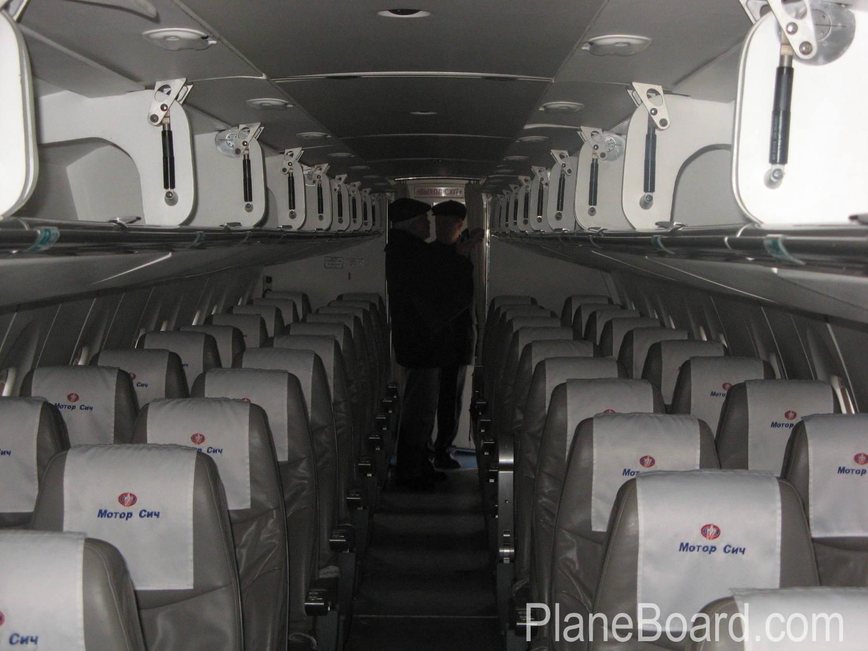 2004 Antonov An-140 interior 1