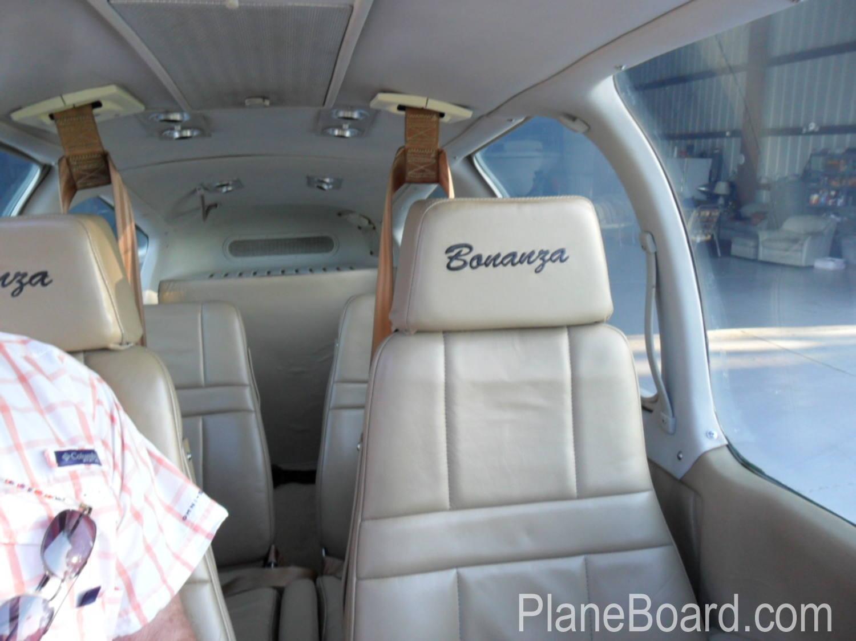 1975 Beechcraft A36 Bonanza interior 8
