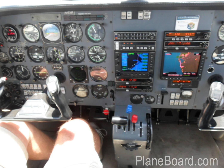 1984 Piper Malibu interior 4