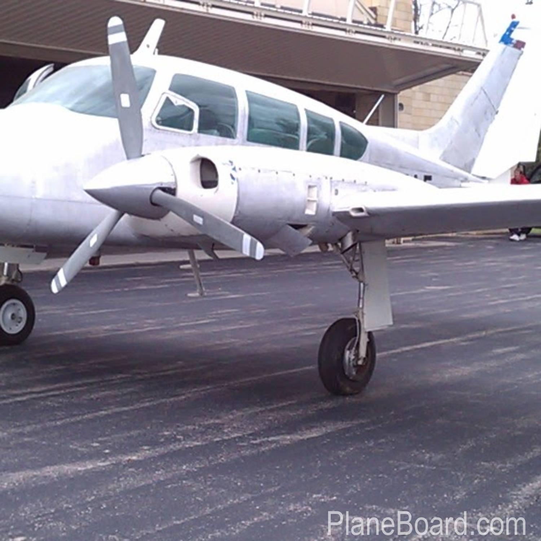 1965 Cessna 310 interior 1