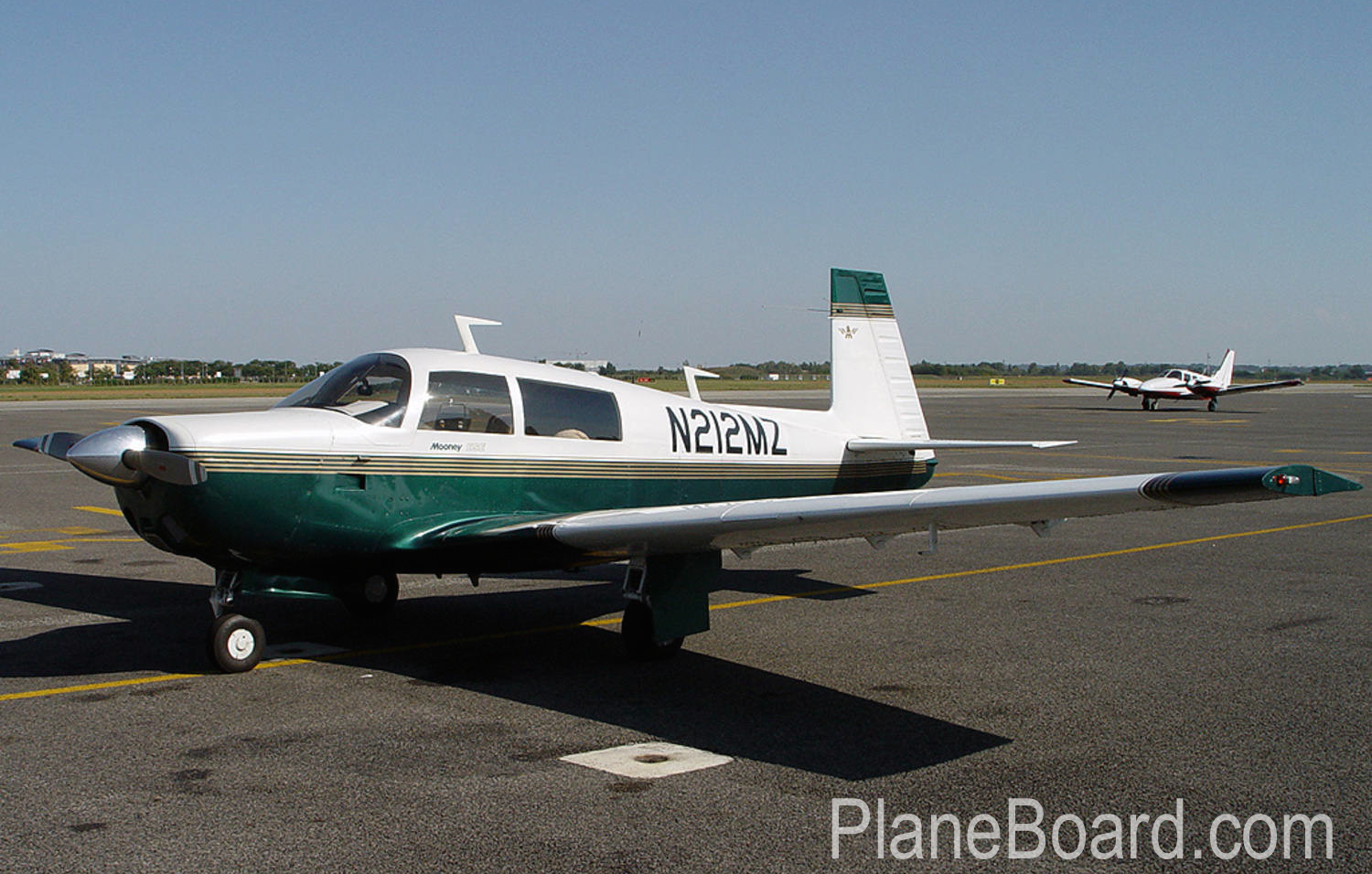 1976 Mooney M20F Exec 21 primary