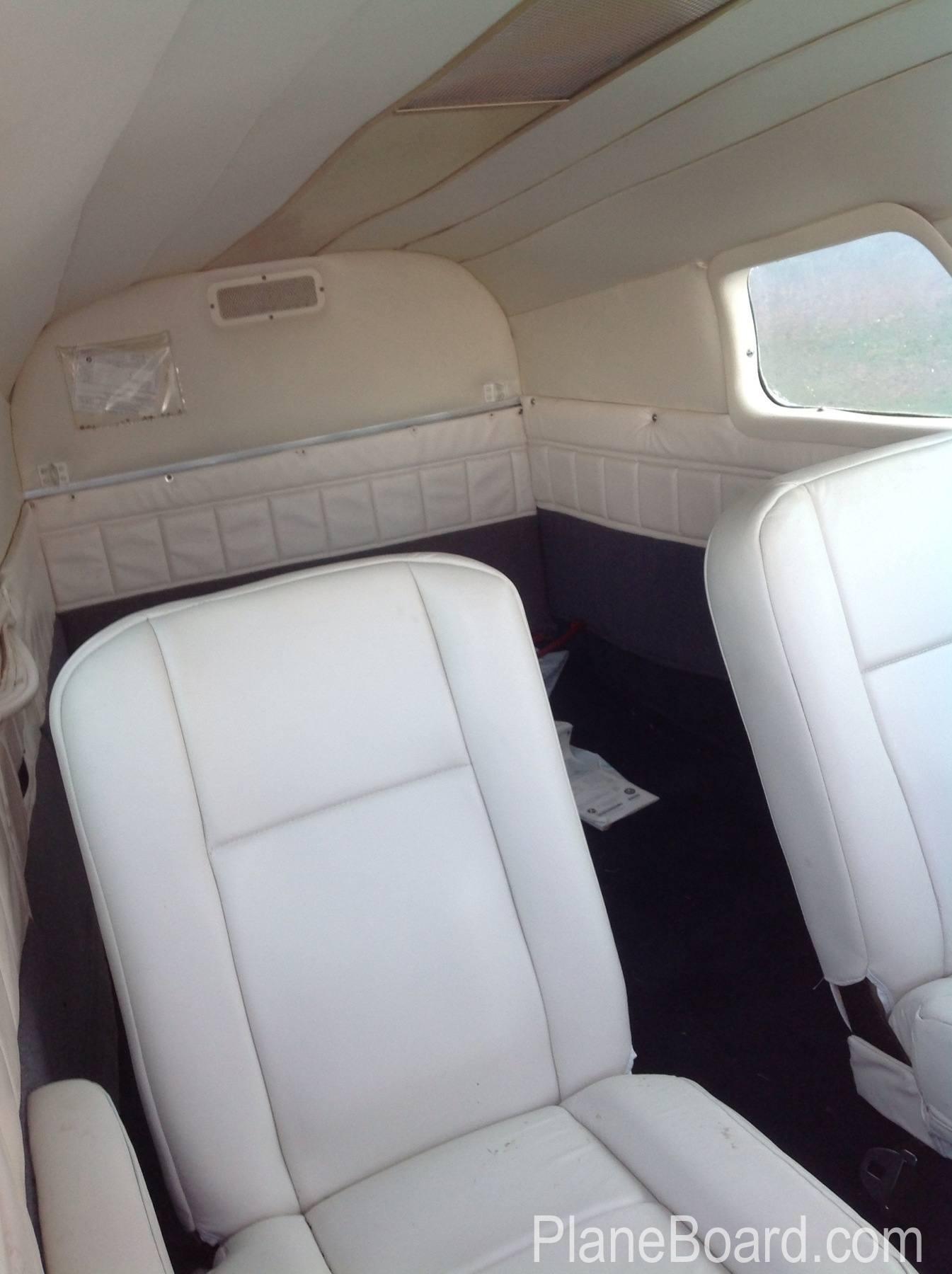 1958 Cessna 310B interior 1