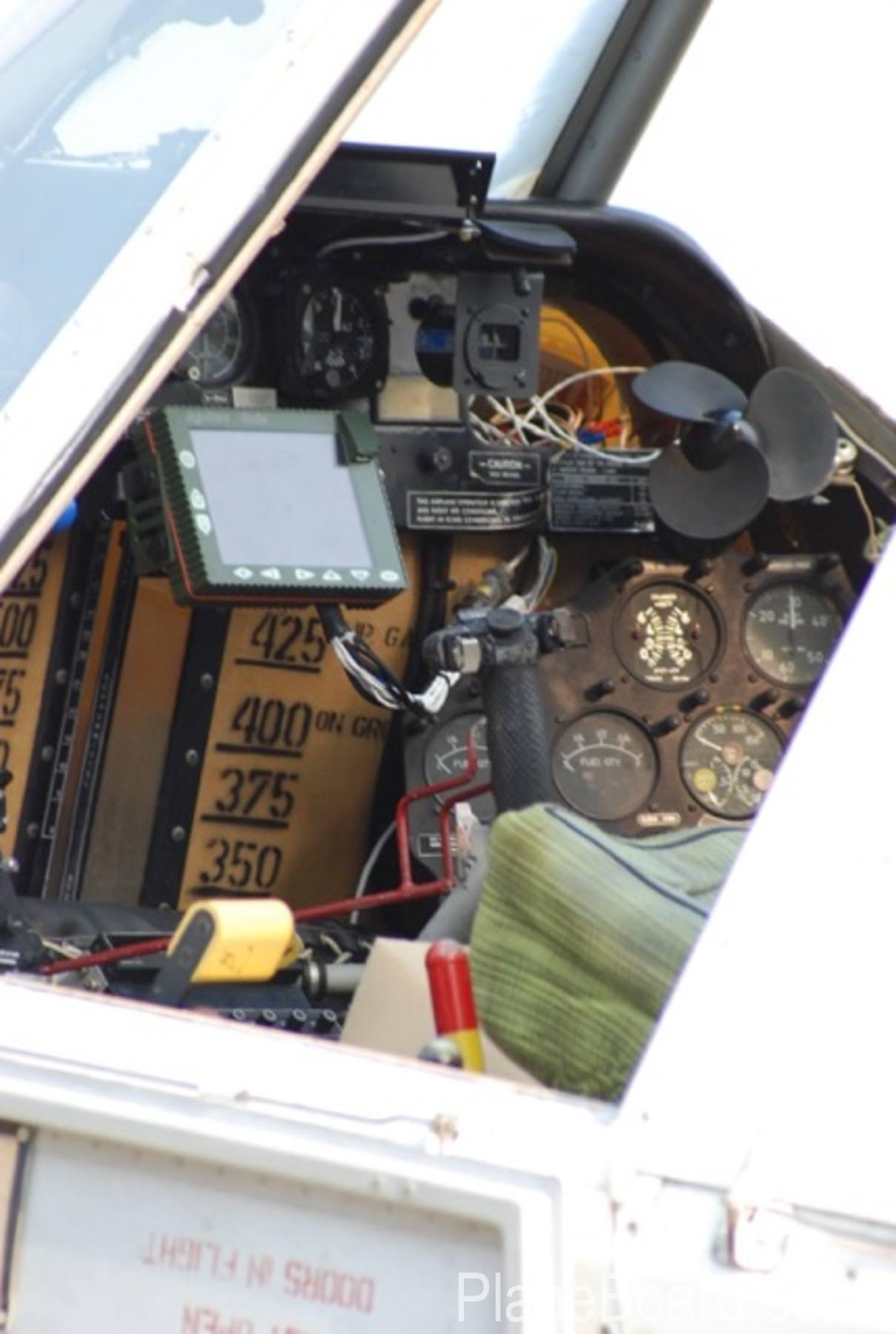 1994 PZL M18 Dromader interior 3
