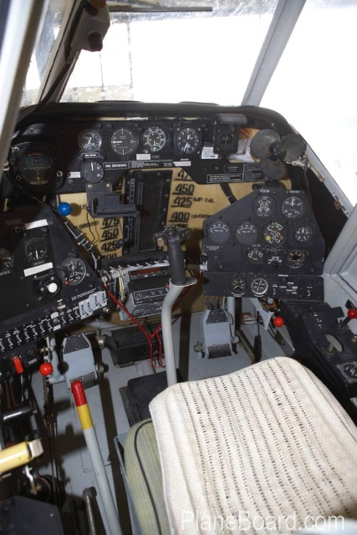 1994 PZL M18 Dromader interior 4