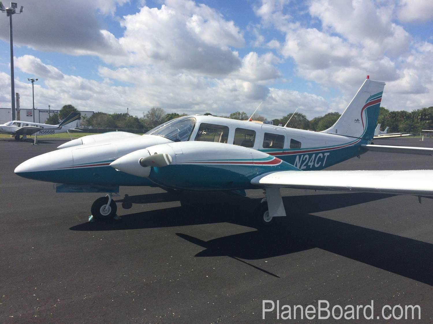 1976 Piper Seneca II primary