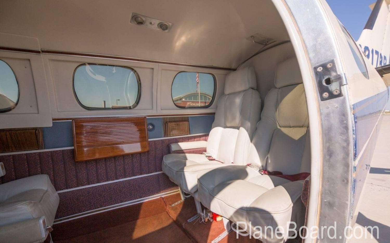 1978 Beechcraft 60 Duke exterior 5