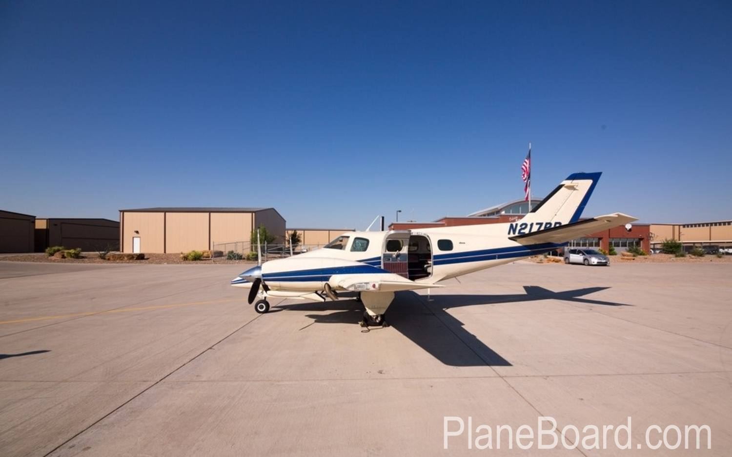 1978 Beechcraft 60 Duke exterior 1