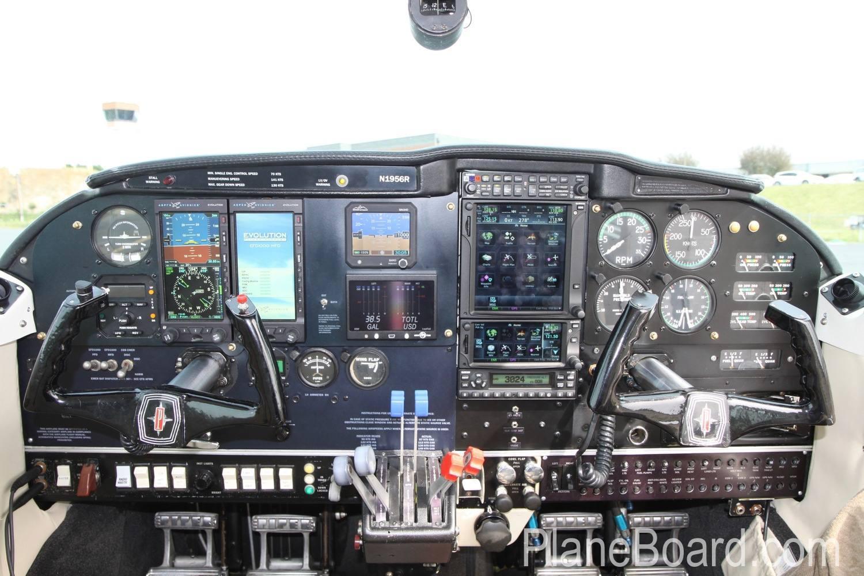 1977 Cessna 421C interior 1
