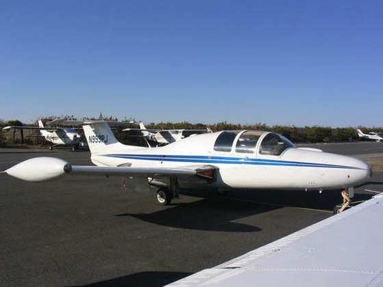 1961 Morane-Saulnier MS 760 Paris Jet