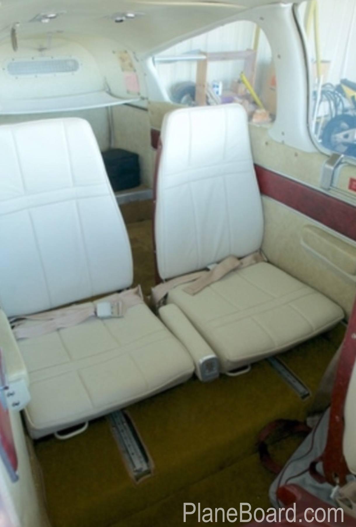 1973 Beechcraft B55 Baron interior 9