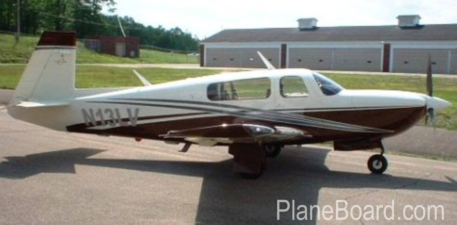 1998 Mooney M20R Ovation exterior 0