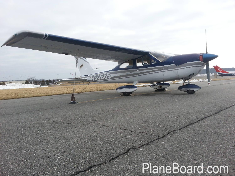 1973 Cessna 177 primary