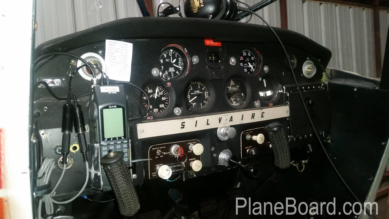 1947 Luscombe 8A interior 0