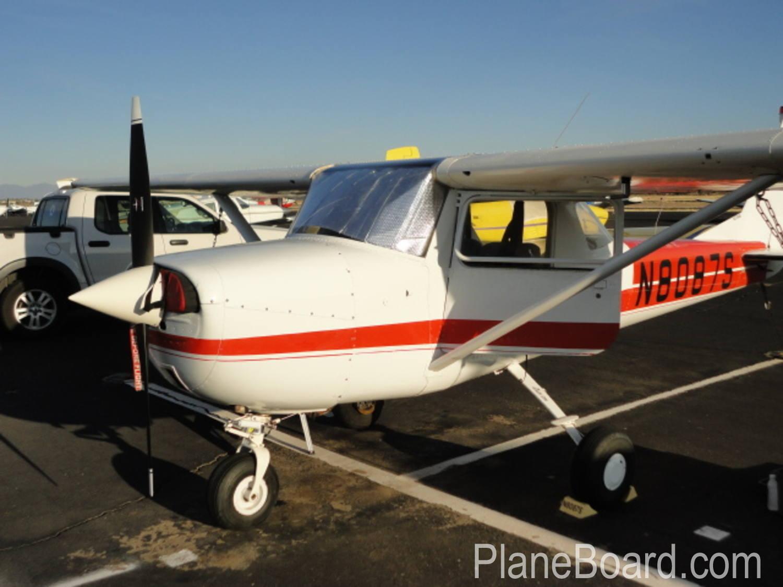 1965 Cessna 150 exterior 2