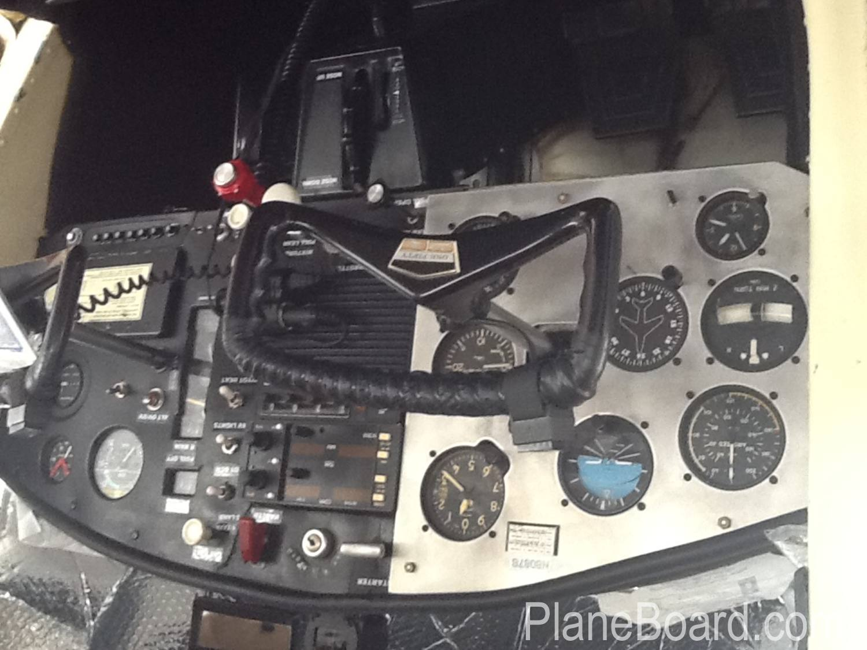 1965 Cessna 150 interior 15