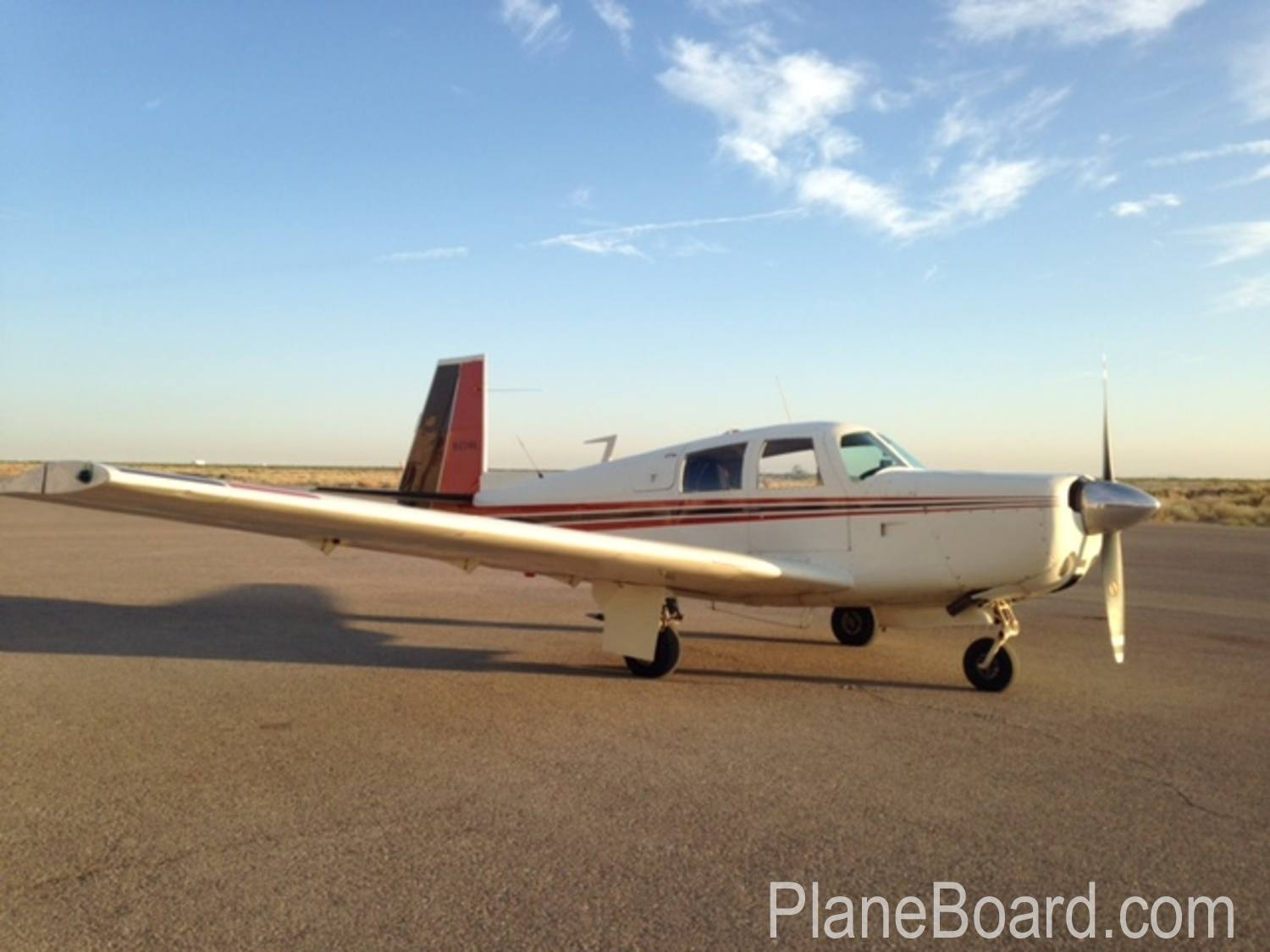 1966 Mooney M20e For Sale N1234k Planeboard